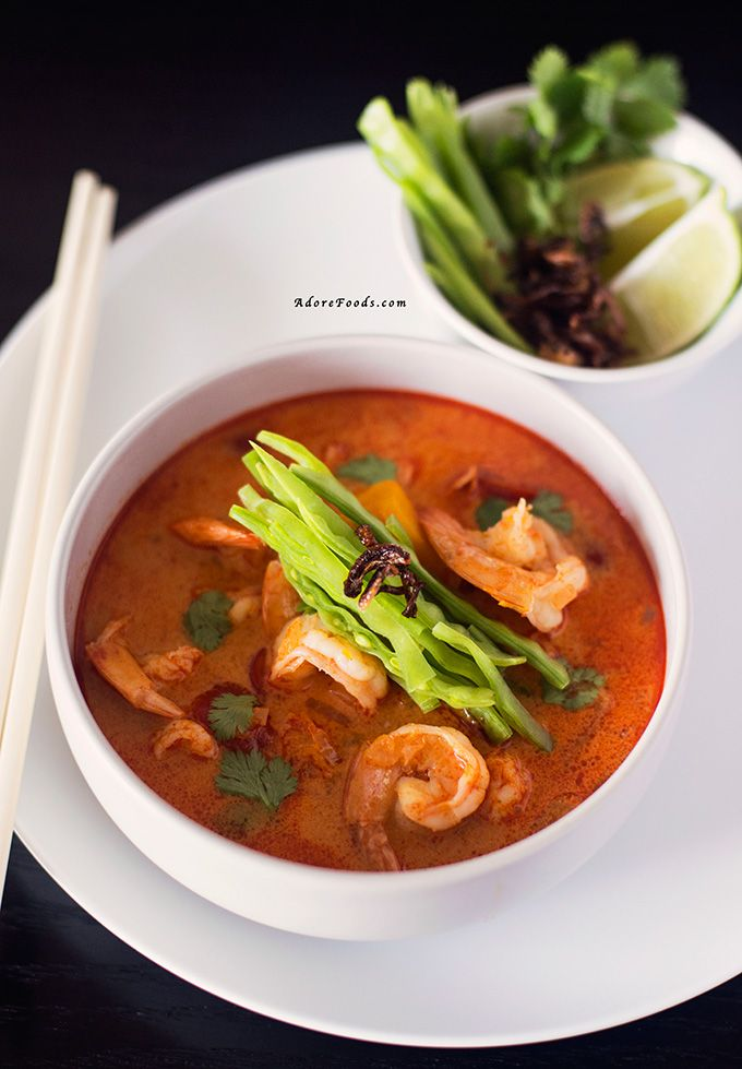 Quick and easy Red Thai Pumpkin and Shrimp Soup. Ready in just 30 minutes!