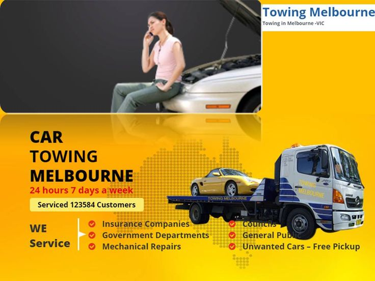Towing Melbourne is the best car towing service provider in Melbourne offer reliable towing and roadside assistance to individual and organizations. We are available 24*7 offer assistance luxury car towing. You can contact us for reliable car towing solutions.