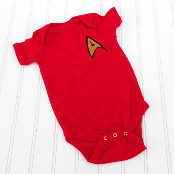 Star Trek Onesie But Its A Red Shirt Snickers Must