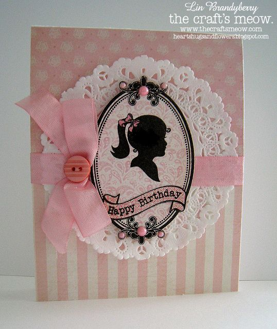 TCM March Blog Hop Sweet Silhouettes by quilterlin, via Flickr