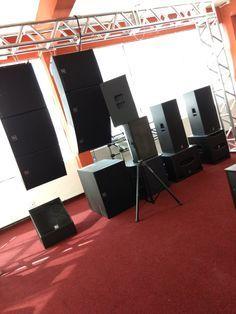 Espaço Produtos Electro Voice & dB Technologies: Line Arrays, Subwoofers, Caixas Ativas & Monitores Palco.