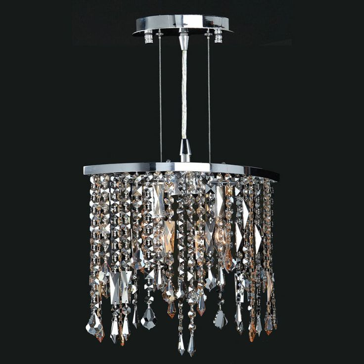 Worldwide W83124c14 Fiona Medium 14 Inch Diameter Crystal Pendant Lamp Wor