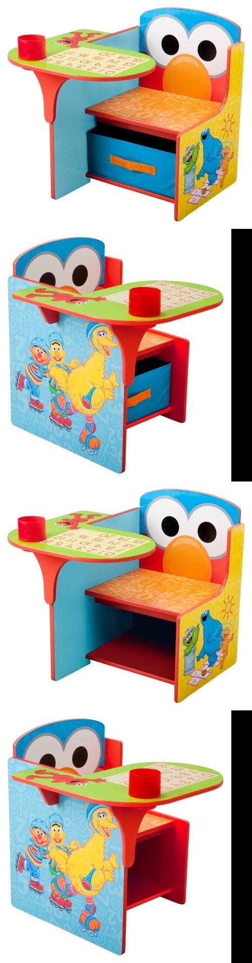 Sesame Street Chair Desk Tc83927ss Features Desk Chair