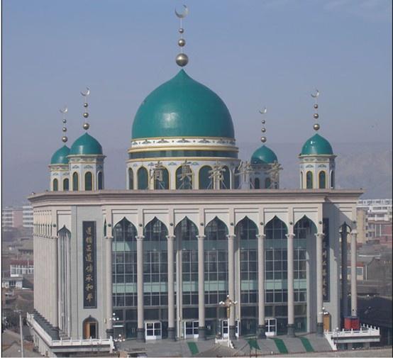 China Mosques - Laohua Mosque in Linxia, Gansu  #China #Mosque #Muslim   @Муслим муслим China