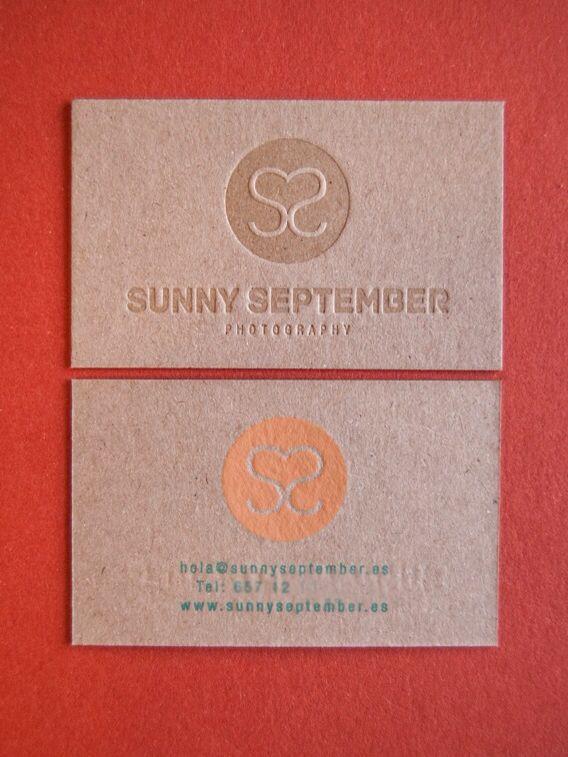 Tarjetas de visita letterpress y serigrafía by loveratory.com