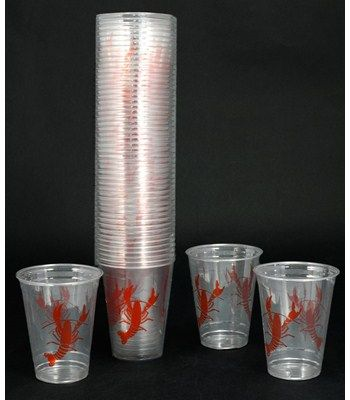 16oz Disposable Crawfish Cups (50) $7.95