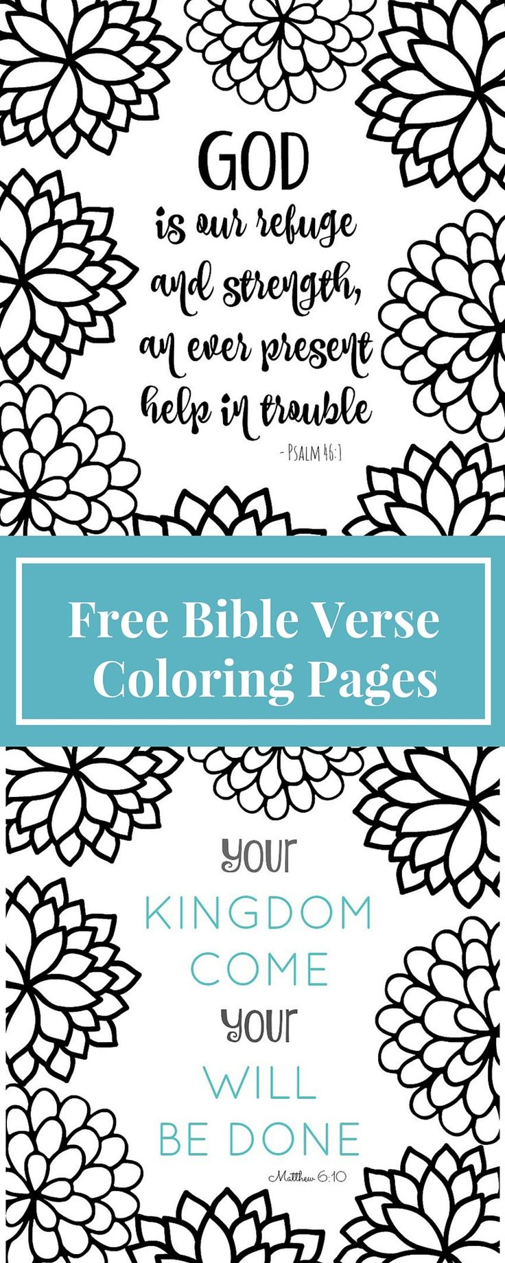 Free printable coloring pages for kids bible - Coloring Pages Are For Grown Ups Now These Bible Verse Coloring Page Printables Are Fun