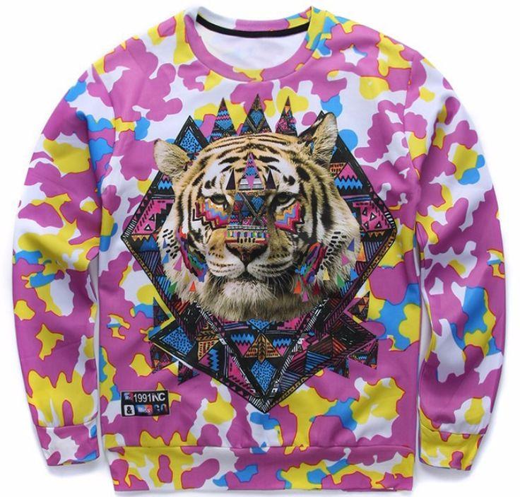 Majestic Tiger Sweatshirt