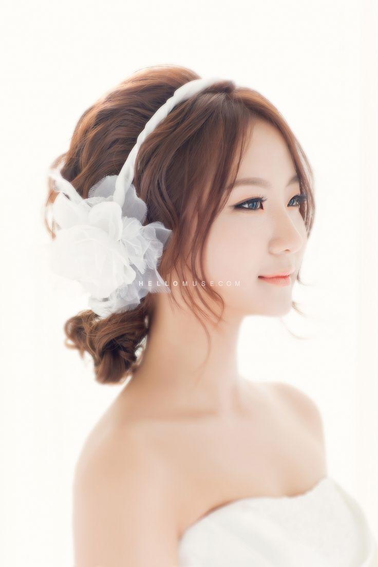 Korea Pre Wedding Photo Make Up And Hair Korean Style Wedding Make Up Korean Style Wedding