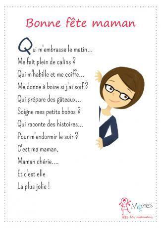 Petite comptine: bonne fête maman! French nursery rhyme for Mother's Day | pour la fête des mères