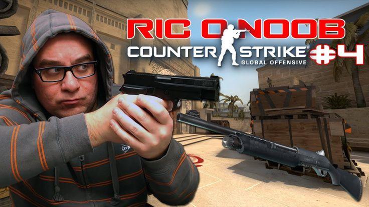 "Ric o NOOB #4 | Shotgun ""NOVA"" muito OP | Counter-Strike: Global Offensive"