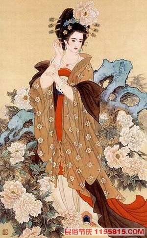 Tang Dynasty illunstration from Chinese folklore website