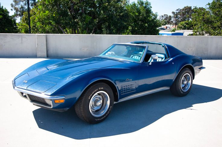 Awesome Awesome 1970 Chevrolet Corvette Blue 1970 Chevrolet Corvette Stingray Coupe 4speed T-Tops 2018