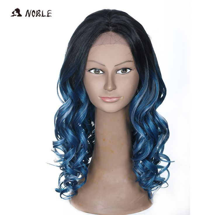 Cheap wigs for blacks, Buy Quality wigs for black women directly from China wigs free shipping Suppliers:  Noble Hair Products Wig 20 Inch Long Wavy Cosplay Elastic Kanekalon Lace Synthetic  Wigs for Black Women  Free Shipping