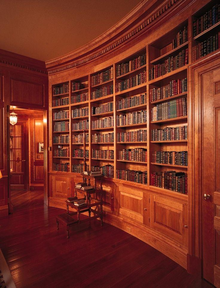 Home Library Bookshelves: 73 Best Design: Library & Bookcases Images On Pinterest