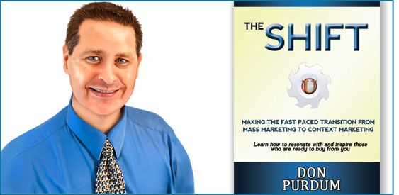 """Why You Must Make """"The Shift"""" In Marketing - ♫ Donna Merrill Tribe"""