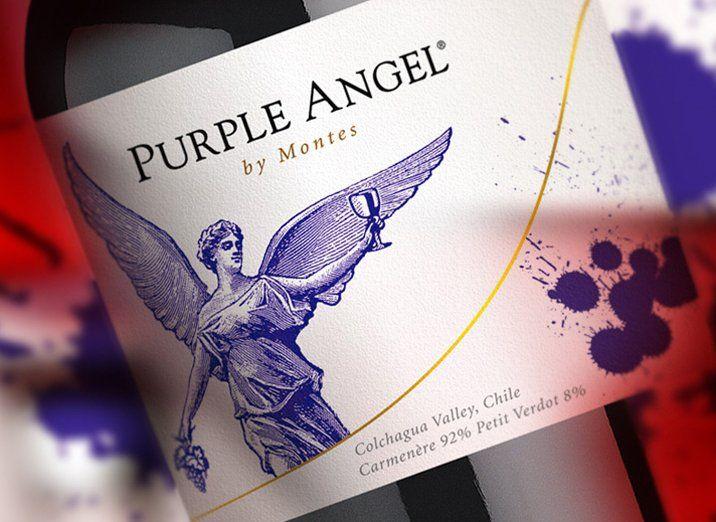 Purple Angel.Viña Montes.Chile