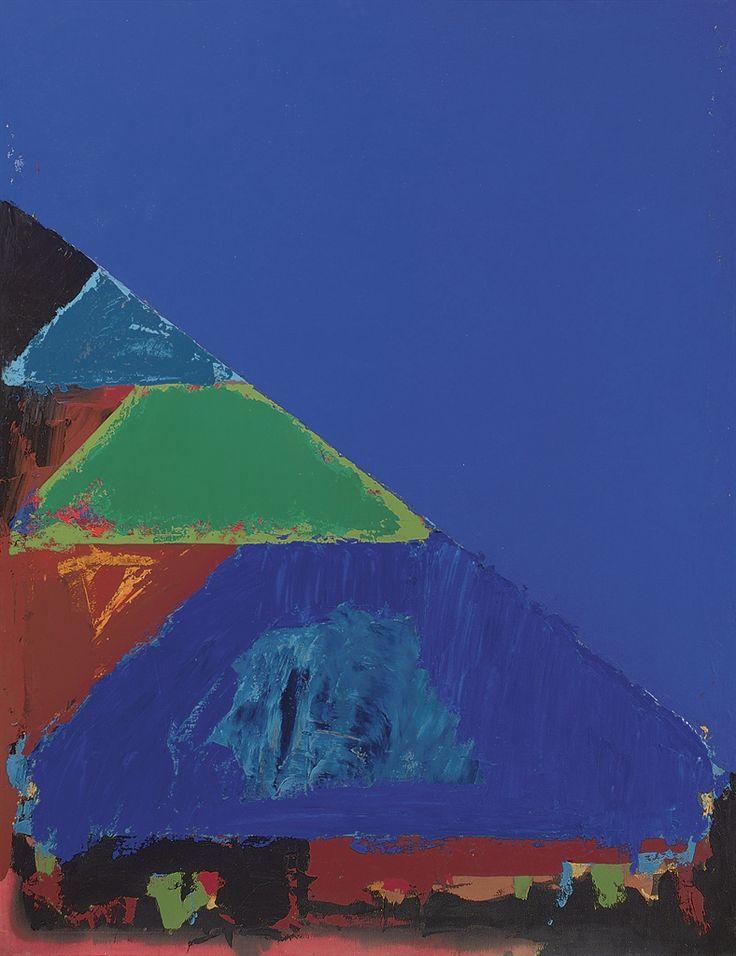 thunderstruck9:  John Hoyland (British, 1934-2011), Lucky Star, 1982. Acrylic on canvas, 78 x 60 in.
