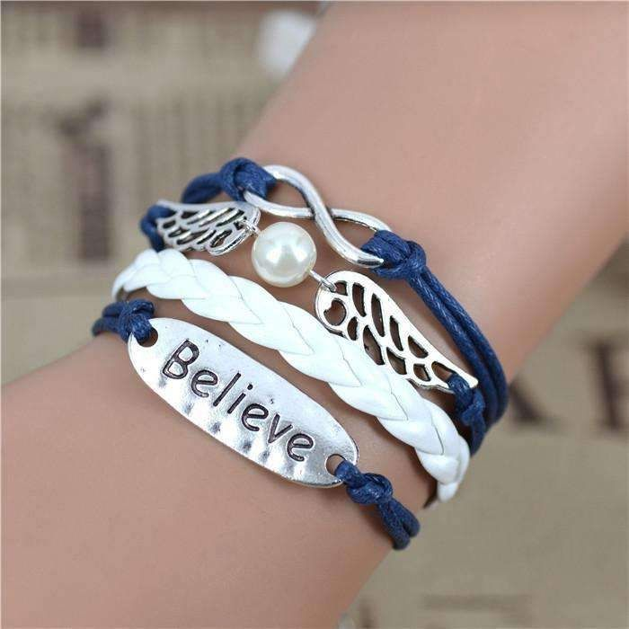 """I Believe"" Handmade Friendship Bracelet"