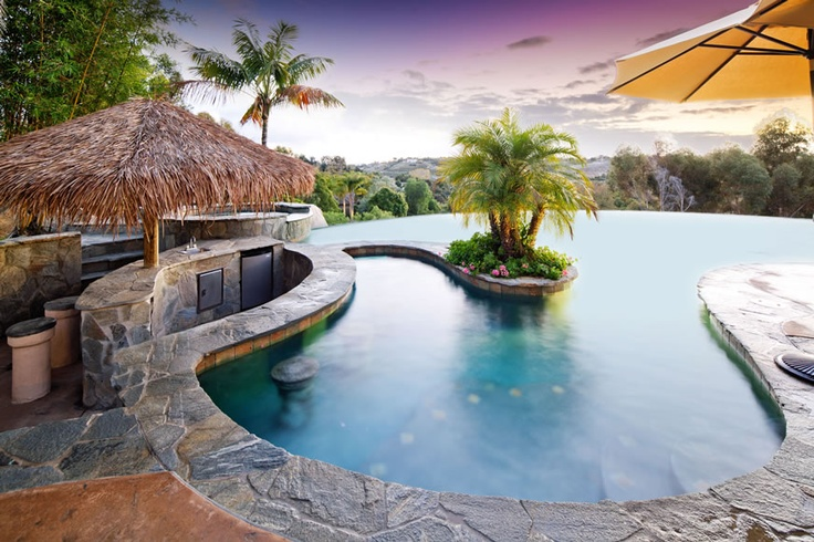 Swim up bar and palapa#Repin By:Pinterest++ for iPad#