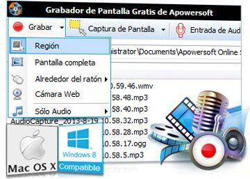 Grabador de pantalla, muy útil en flipped classroom