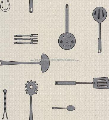ideas para decorar cocinas con papel pintado para paredesun producto vinlico y