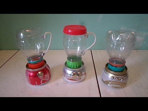 Liquidificador de latinha - tutorial 02 - tampa e outros modelos