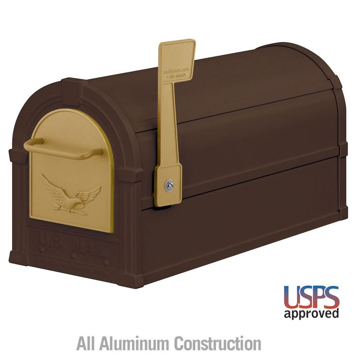 Salsbury Industries Rural Residential Mailbox with Eagle