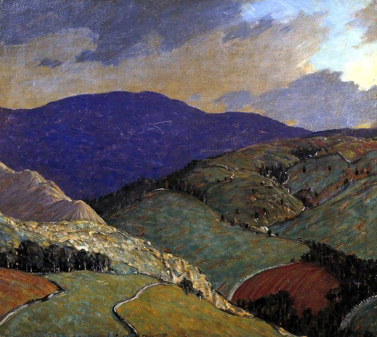Whernside 1917 Charles John Holmes
