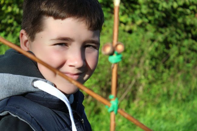 stickman trail at Moors Valley