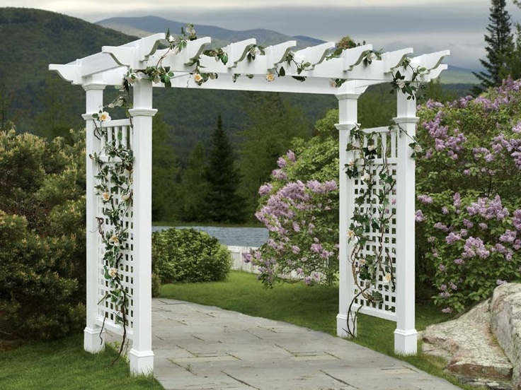 Simple Grape Arbor Plans WoodWorking Projects Plans