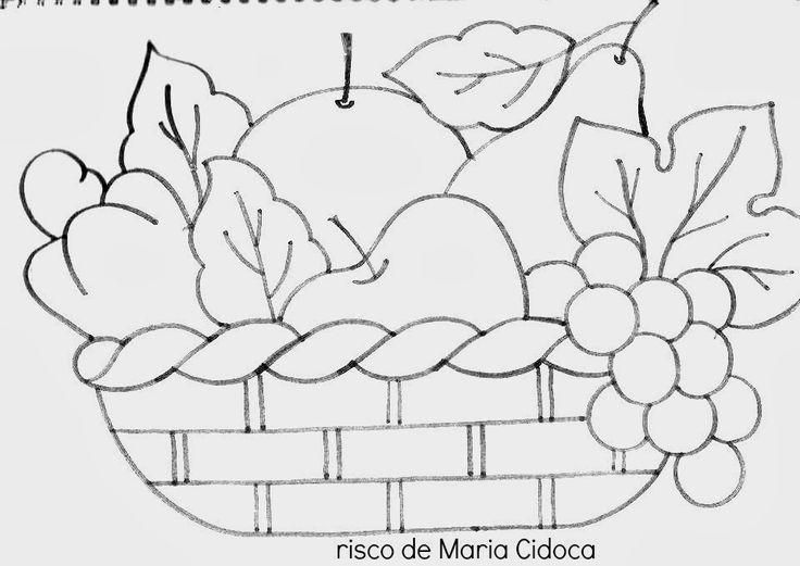 Art'sanália : Riscos de frutas