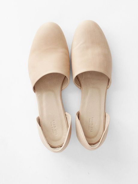 Minimal + Classic: Evam Eva Leather Separate Shoes