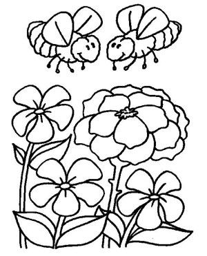 Insects coloring page 10