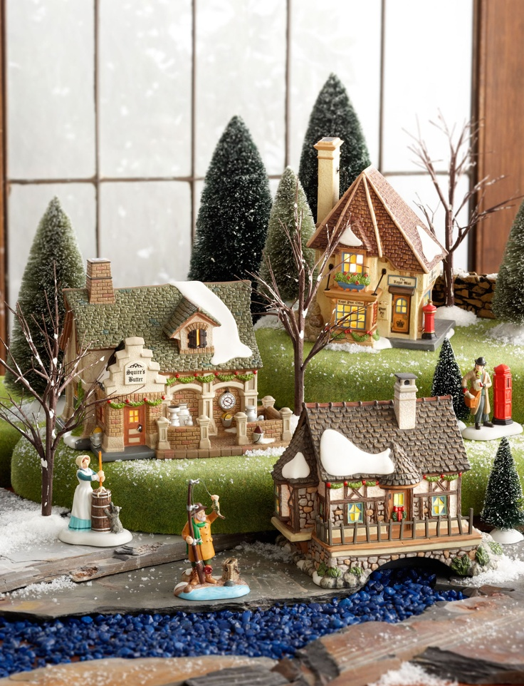17 best images about department 56 displays on pinterest for Department 56 dickens village most valuable