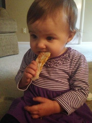 Accidentally Wonderful Baby Quesadillas 1 Year