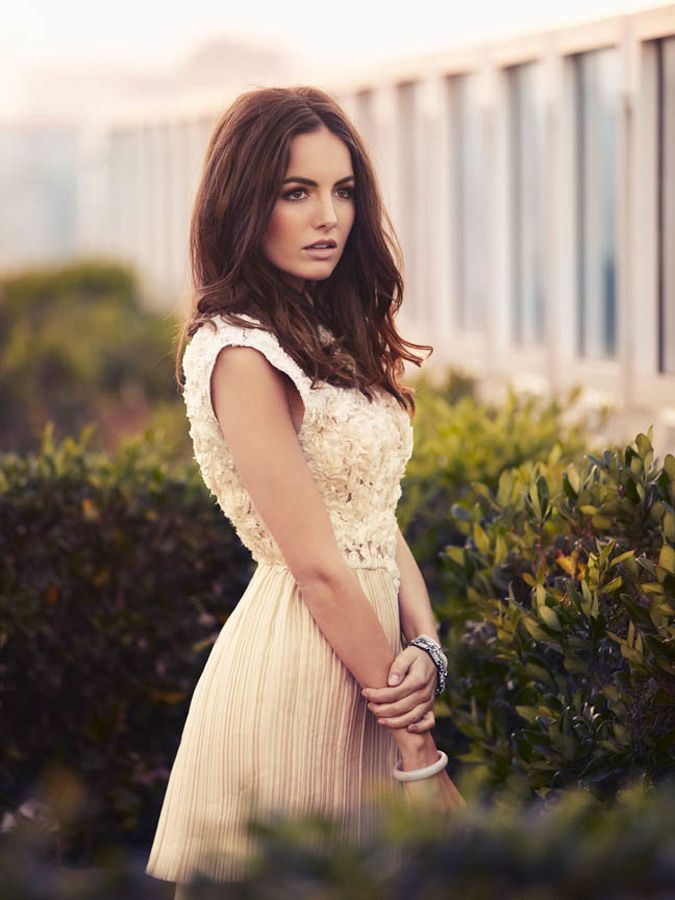 Camilla Belle. Someone whos face lives up to her surname.