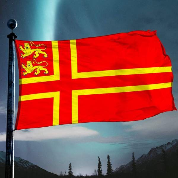 Norman Flag Hanging Flags Flag Tapestry