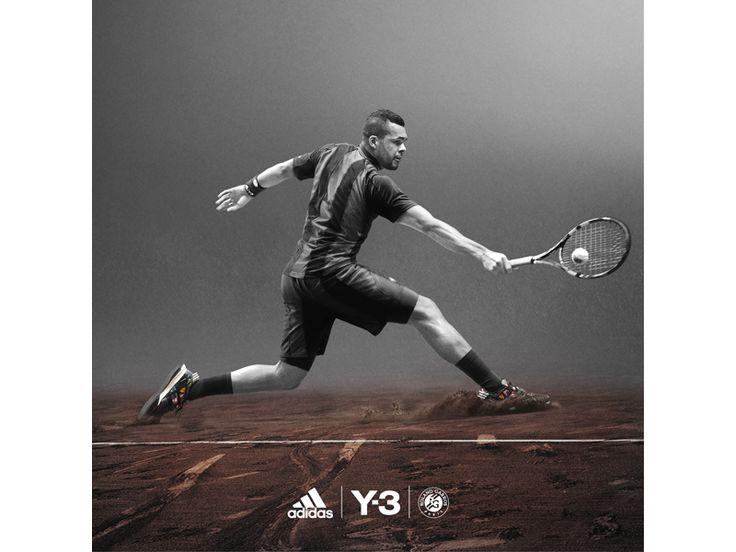 Roland Garros 2015 la tenue adidas Y3 de Tsonga