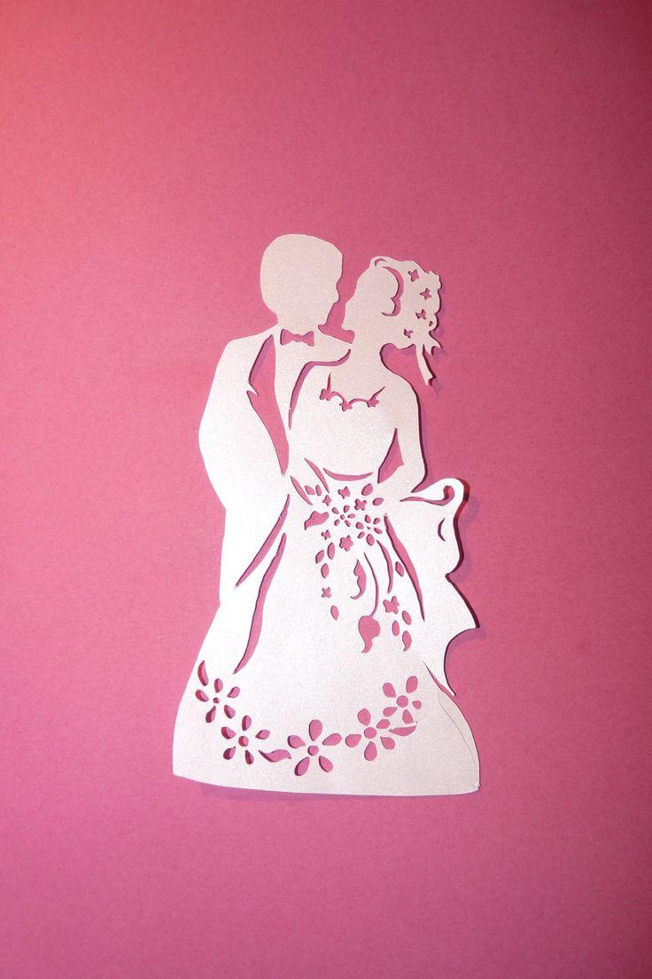 Свадьбу надписями, свадебная открытка вытынанка трафарет