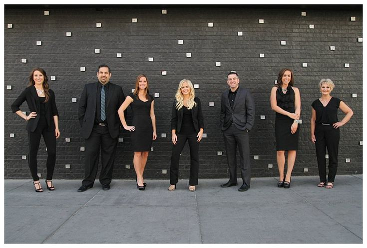 Business team group shot by Kristen Lunceford Photography