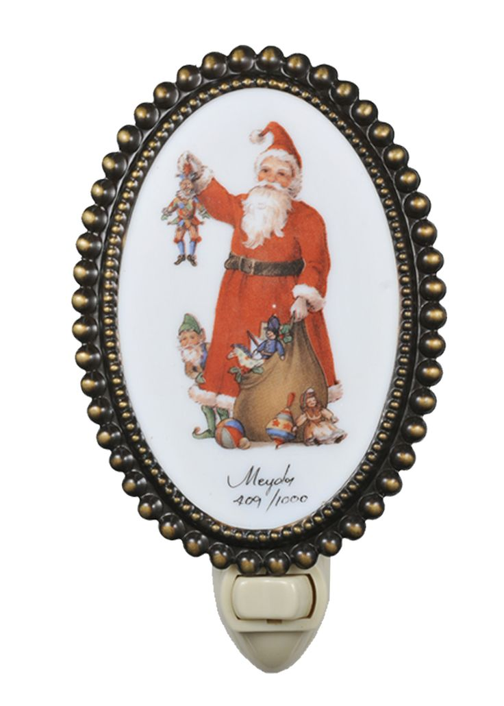 "3.5 Inch W Christmas Fruits Of His Labor Fused Oval Night Light - 3.5 Inch W Christmas Fruits Of His Labor Fused Oval Night Light Theme: VICTORIAN Religious HOLIDAY Product Family: Christmas Fruits of His Labor Product Type: NOVELTY LAMPS AND ACCESSORIES Product Application: Color: FRUITS OF HIS LABOR Bulb Type: NL Bulb Quantity: 1 Bulb Wattage: 4 Product Dimensions: 6""H x 3.5""WPackage Dimensions: NABoxed Weight: lbsDim Weight: 2 lbsOversized Shipping Reference: NAIMPORTANT NOTE: Every Meyda…"