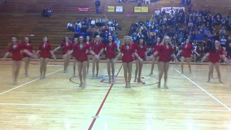 Bountiful High School Drill Team Region Dance Routine 2010-2011