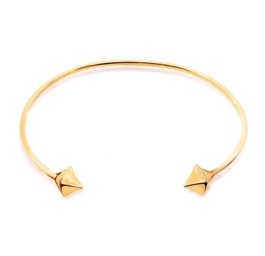 Almaz 22k Yellow Gold Vermeil Bange