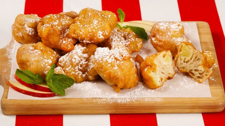 Apple Fritters - Recipes - Best Recipes Ever - These scrumptious treats are a must during apple season.