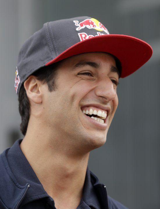 Toro Rosso Pilot Daniel Ricciardo of Australia @ Spa-Francorchamps circuit, Belgium, for the 2013 F1 GP