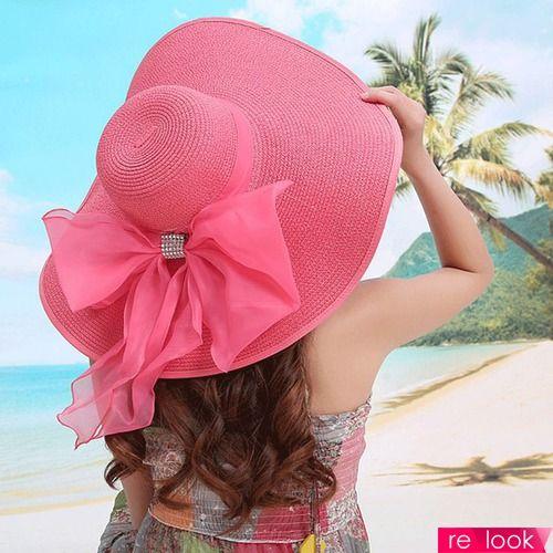 пляжные шляпы