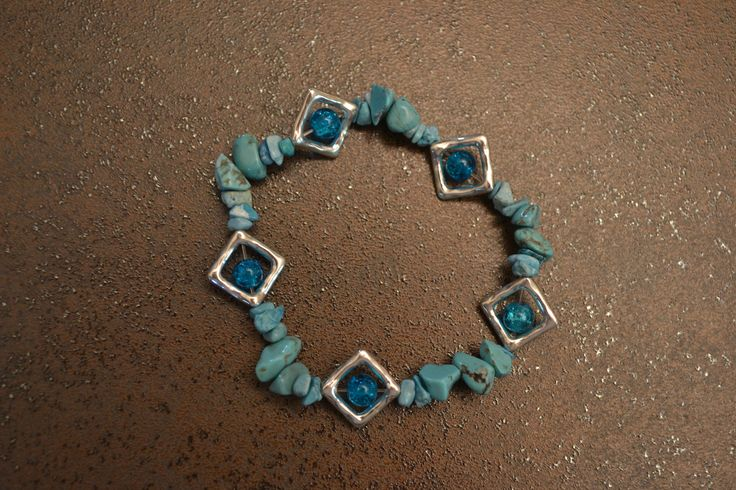 bracelet en turquoise, Opale Isis, Christine Monsion