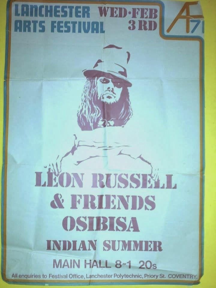 Leon Russell, Osibisa 1971