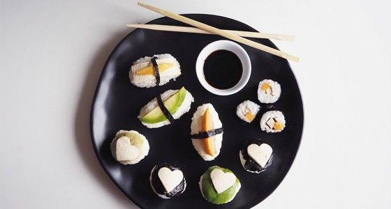 Sushi recepty na tři způsoby